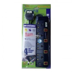 Cento 4 Gang Socket With...